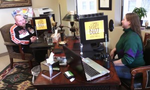 Kimberly Hanlon interviews Bruce Lawrence on The Small Business Buzz Podcast
