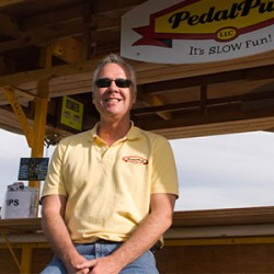 PedalPub founder Eric Olson interviews on The Small Business Buzz Podcast
